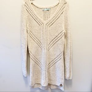 Maurices cream/biscuit colored sweater , Size S